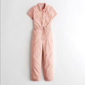 Hollister Pink Jumpsuit